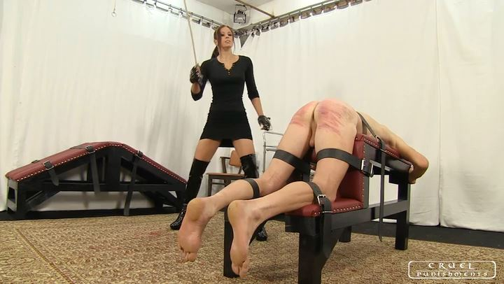 Lady Anette In Scene: Lady Anette's brutal games part1 - CRUEL PUNISHMENTS - SEVERE FEMDOM - SD/406p/MP4