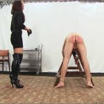 Lady Anette In Scene: Brutal whipping and caning Part 1 – CRUEL PUNISHMENTS – SEVERE FEMDOM – SD/406p/MP4