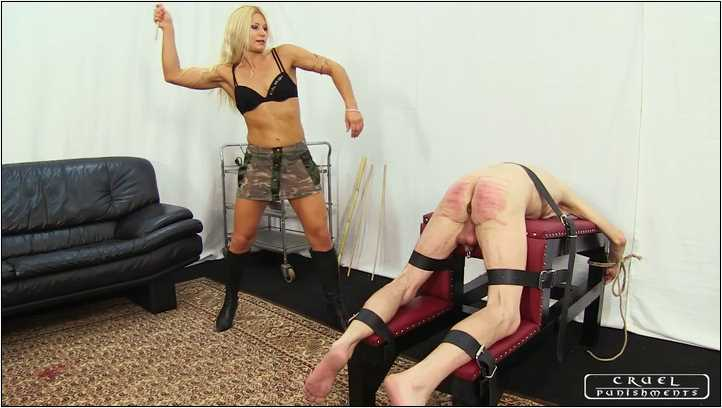 Lady Zita In Scene: Slave's inevitable pain Part 1 - CRUEL PUNISHMENTS - SEVERE FEMDOM - SD/406p/MP4