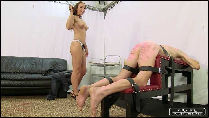 Lady Anette In Scene: Punishment instead of housework Part 1 - CRUEL PUNISHMENTS - SEVERE FEMDOM - SD/406p/MP4