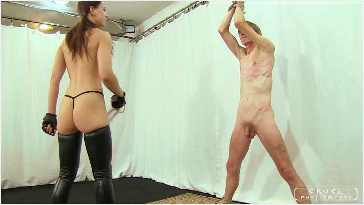 Lady Anette In Scene: Anette's cruel seance Part 3 - CRUEL PUNISHMENTS - SEVERE FEMDOM - SD/406p/MP4