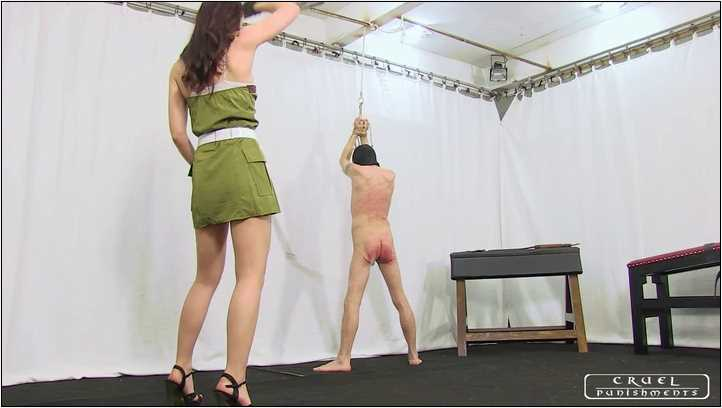 Lady Anette In Scene: Extreme painful military punishment Part 3 - CRUEL PUNISHMENTS - SEVERE FEMDOM - SD/406p/MP4