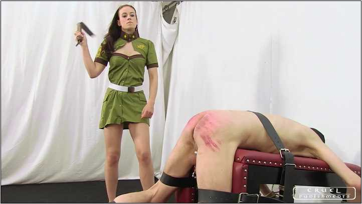 Lady Anette In Scene: Extreme painful military punishment Part 2 - CRUEL PUNISHMENTS - SEVERE FEMDOM - SD/406p/MP4
