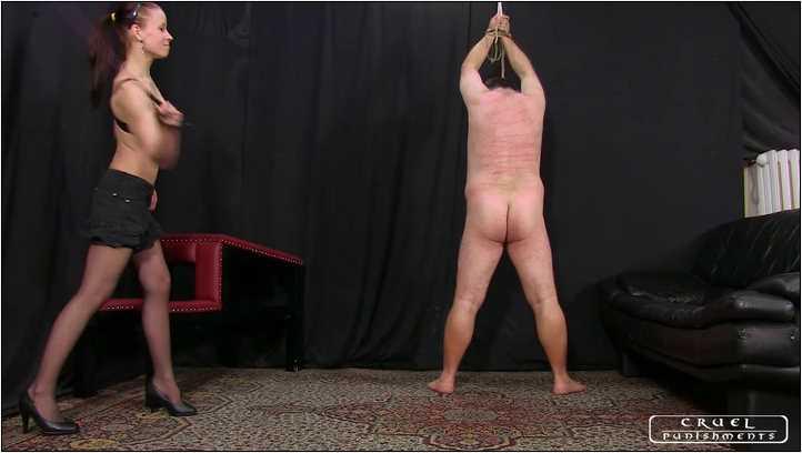 Lady Anette In Scene: 3 punishments in a row par1 - CRUEL PUNISHMENTS - SEVERE FEMDOM - SD/406p/MP4
