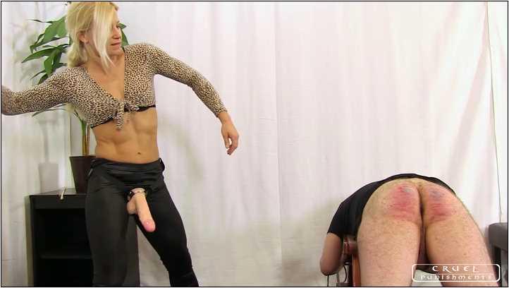 Lady Zita In Scene: Tortured ass Part 2 - CRUEL PUNISHMENTS - SEVERE FEMDOM - SD/406p/MP4