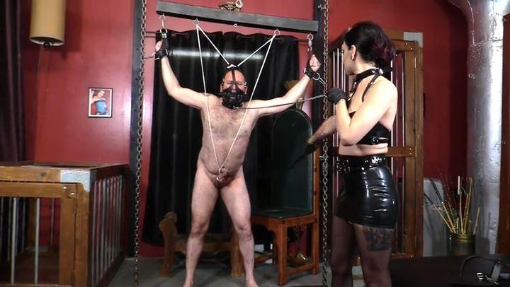 Mistress Cybill Troy In Scene: Mangled Cock & Balls - CYBILL TROY'S DTLA DOMINAS / CYBILLTROY - SD/406p/MP4
