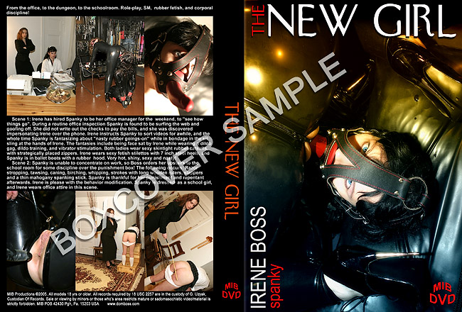 Domina Irene Boss In Scene: The New Girl - DOMBOSS / MIB PRODUCTIONS - HD/720p/MP4