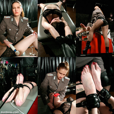 Irene Boss, Goddess Amazon In Scene: Tickle Torture Interrogation - DOMBOSS / MIB PRODUCTIONS - SD/480p/MP4