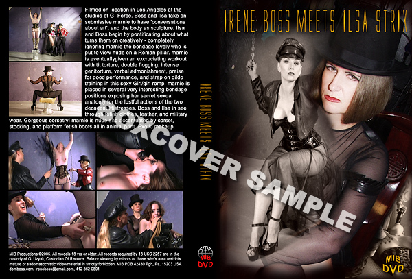 Irene Boss meets Ilsa Strix - DOMBOSS / MIB PRODUCTIONS - SD/480p/MP4