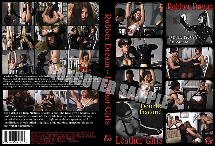 Mistress Anastasia In Scene: Rubber Dream - DOMBOSS / MIB PRODUCTIONS - SD/480p/MP4