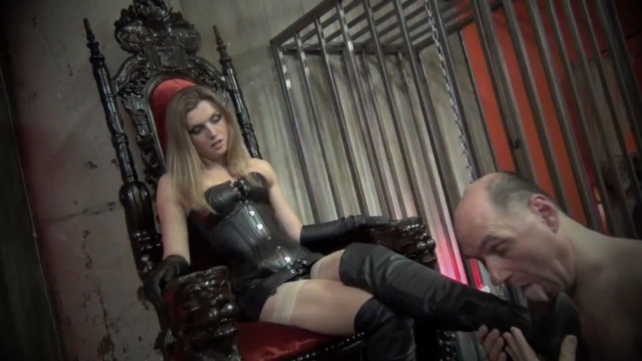 Ms Renee Trevi In Scene: THESE BOOTS WERE MADE TO BE WORSHIPPED - DOMNATION - HD/720p/MP4