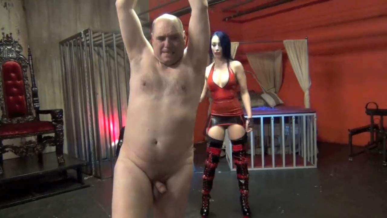 Mistress January Seraph In Scene: TEAR HIS FLESH, BREAK HIS WILL - DOMNATION - HD/720p/MP4