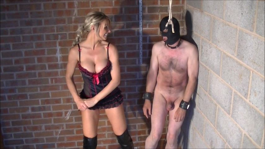 UK Mistress Elise In Scene: You Will Be Beaten Badly - ELISE BULLIES BALLS UK - SD/480p/MP4