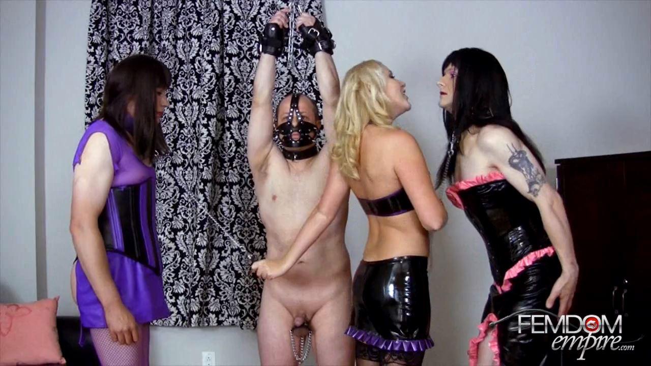 Ashley Edmonds In Scene: Ashley Sissy Double Suck - FEMDOMEMPIRE - HD/720p/MP4