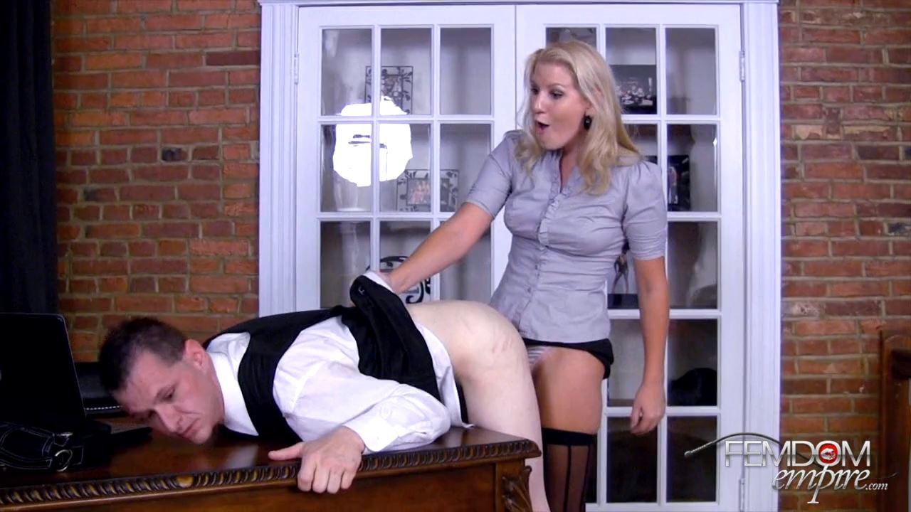 Ashley Edmonds In Scene: Secretary's REVENGE - FEMDOMEMPIRE - HD/720p/MP4