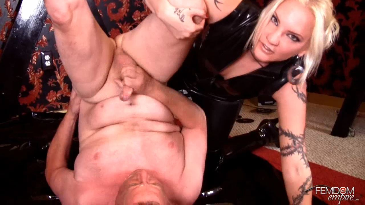 Coral Korrupt, Lexi Sindel In Scene: Shoot in your own mouth - FEMDOMEMPIRE - HD/720p/MP4