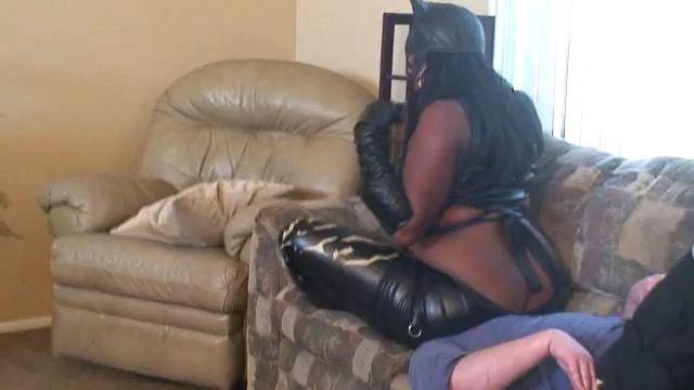 Mistress Hazel In Scene: Catwoman Smother - FEMDOMARMY - LQ/360p/MP4