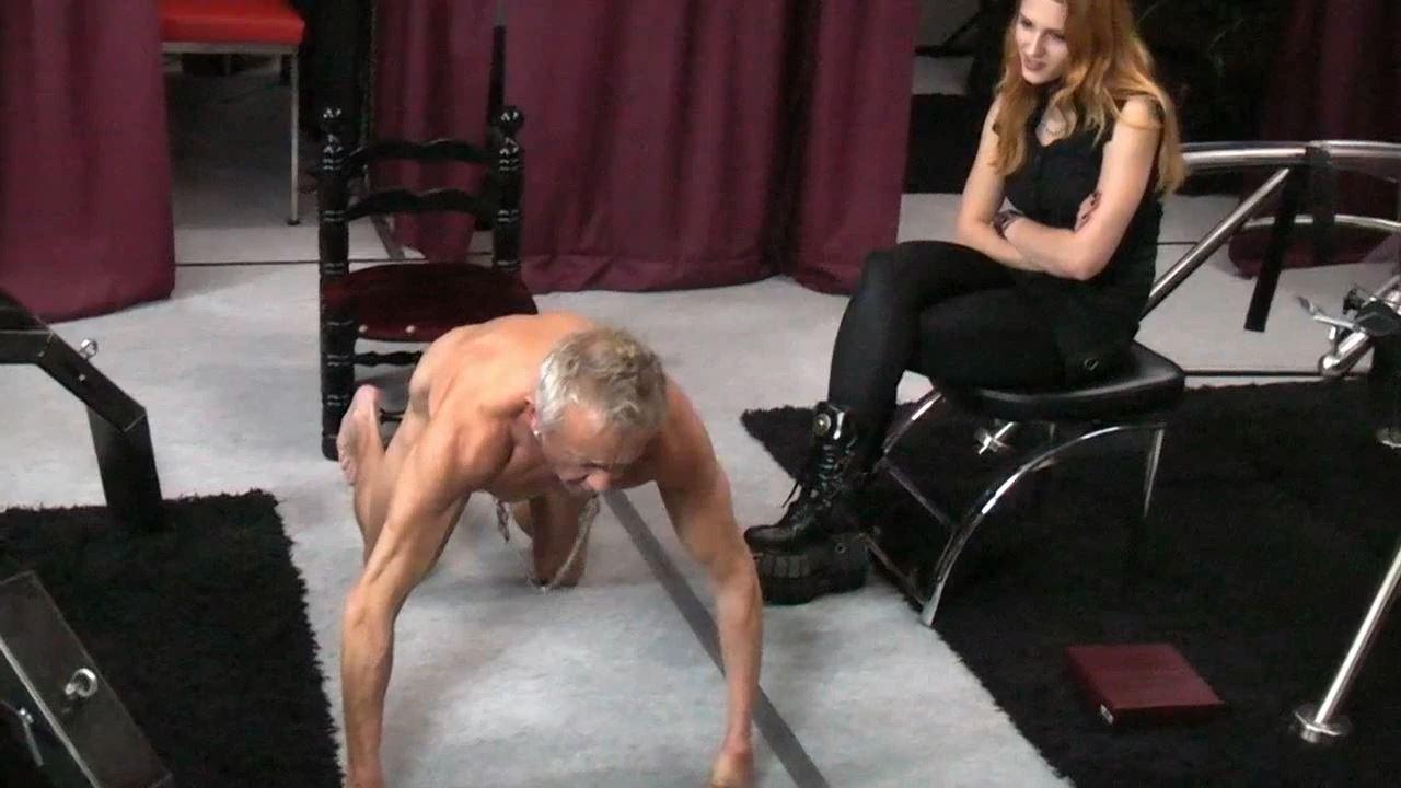 Lady Medusa In Scene: Hard Training 2 - GERMAN DOMINAS / GERMANY FEMDOM - HD/720p/MP4
