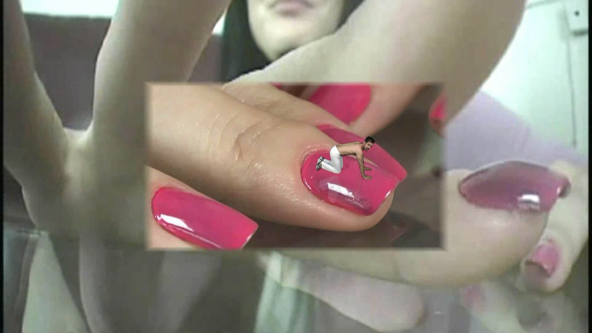 My Manicure Fan - GIANTESS SHRINKING FEET - FULL HD/1080p/MP4