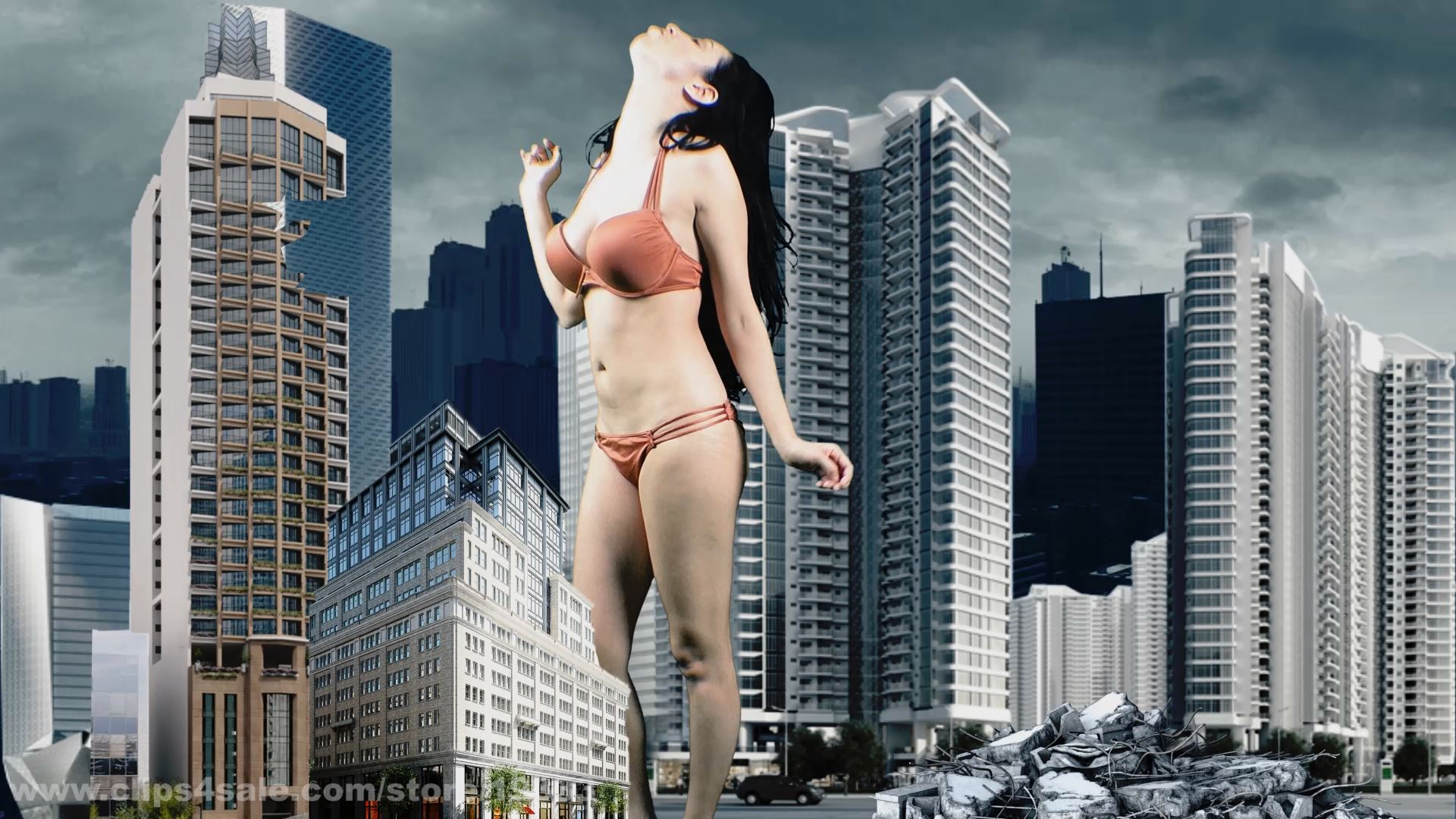 Cydelzilla Growth - GIANTESS SHRINKING FEET - FULL HD/1080p/MP4