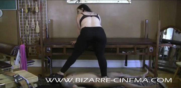 Mistress Xena In Scene: I Stand On you Part 3 - BIZARRE CINEMA - LQ/352p/MP4