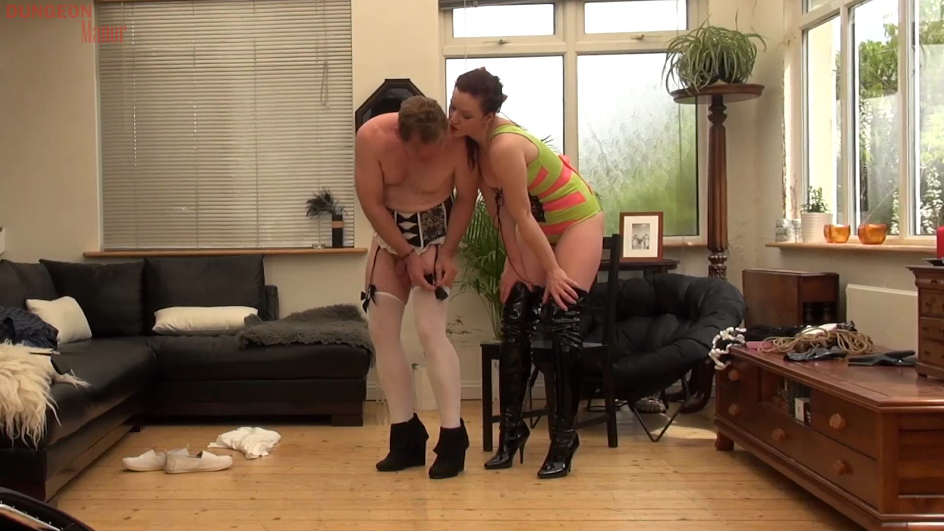 A dungeon Manor Production 403 - MISTRESS EVILYNE - FULL HD/1080p/MP4