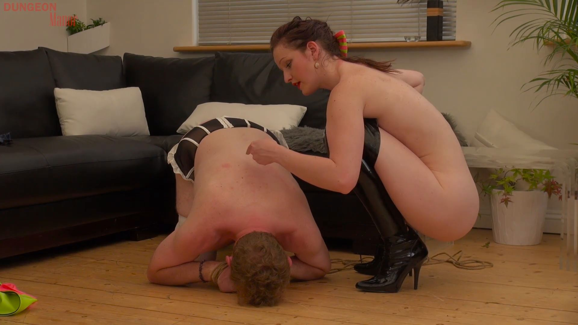 A dungeon Manor Production 408 - MISTRESS EVILYNE - FULL HD/1080p/MP4