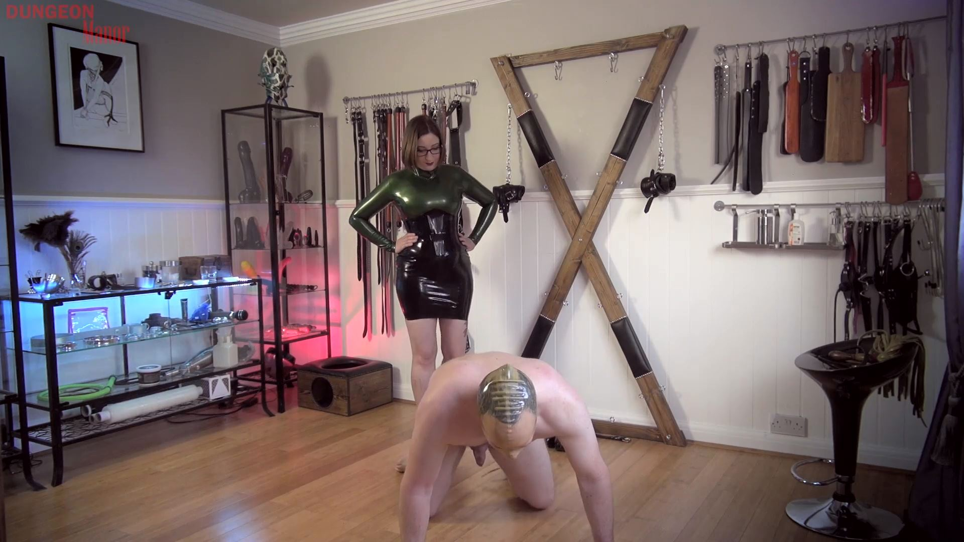 A dungeon Manor Production 426 - MISTRESS EVILYNE - FULL HD/1080p/MP4
