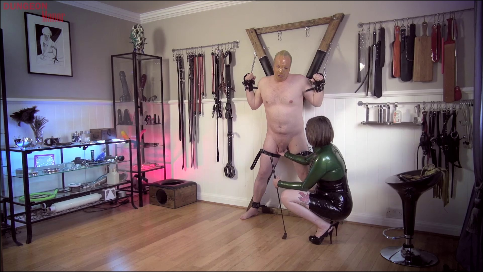 A dungeon Manor Production 428 - MISTRESS EVILYNE - FULL HD/1080p/MP4