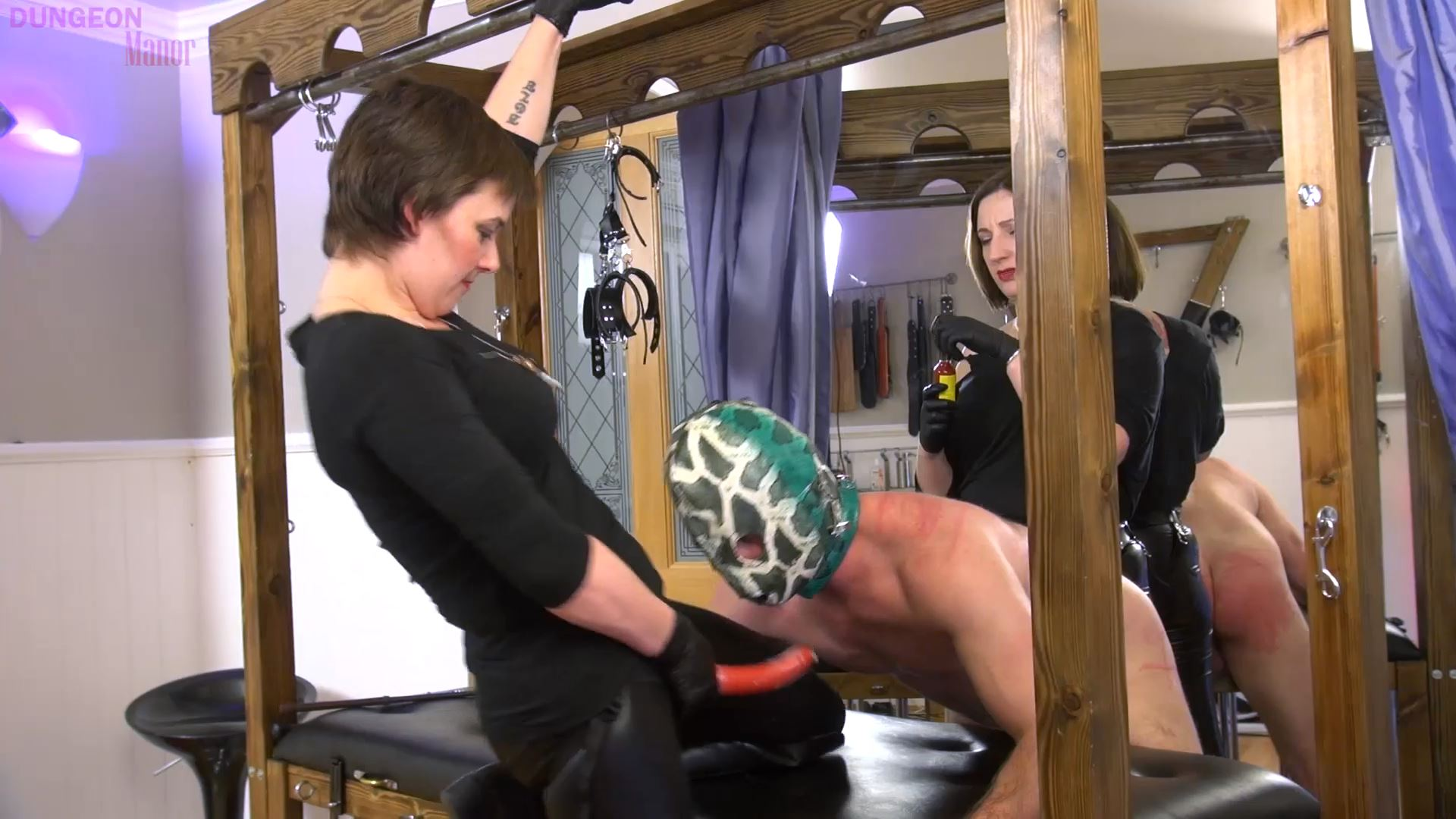A dungeon Manor Production 432 - MISTRESS EVILYNE - FULL HD/1080p/MP4