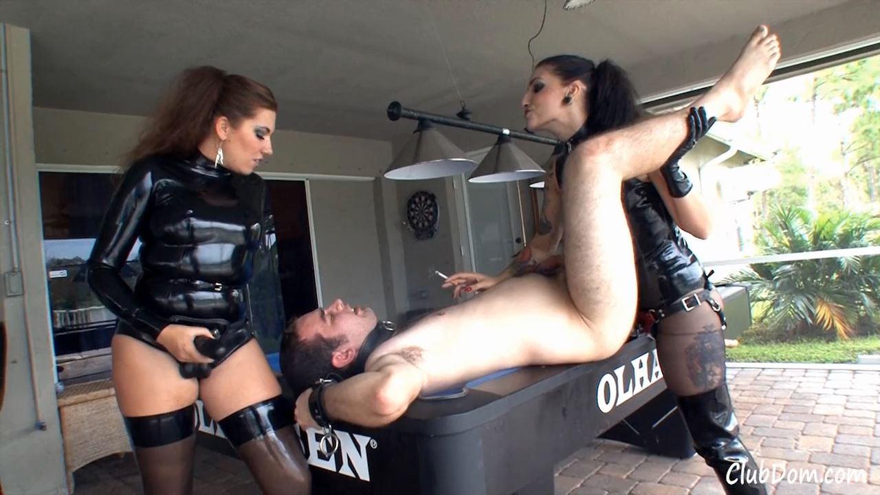 Cybill Troy, Elena De Luca In Scene: Pounded On The Pool Table - CLUBDOM / RUTHLESSVIXEN - HD/720p/MP4