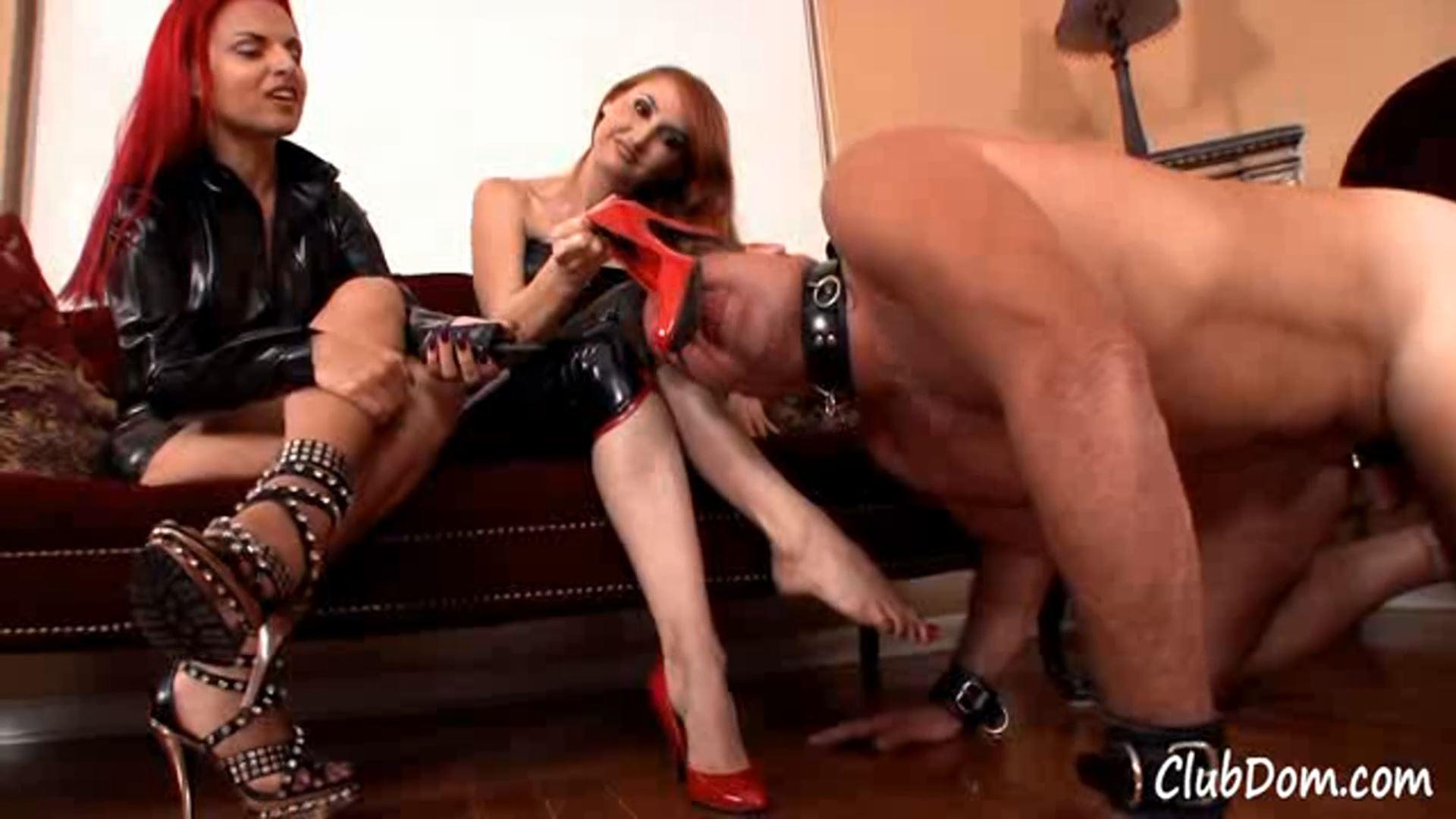 Kendra James, Mistrix In Scene: High Heel Teasing - CLUBDOM / RUTHLESSVIXEN - FULL HD/1080p/MP4