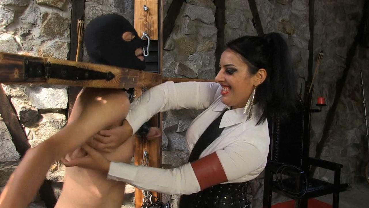 Mistress Ezada In Scene: Tickling Til Exhausted - SADO-LADIES - HD/720p/MP4