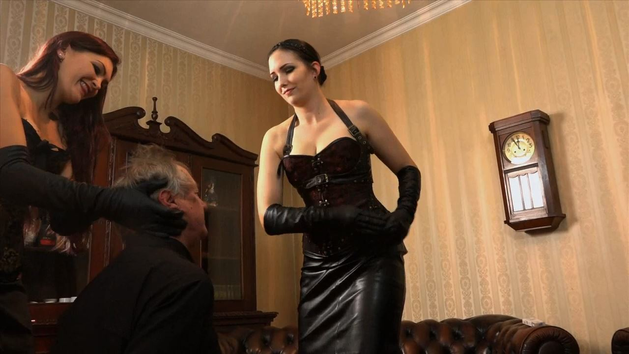 Mistress Nemesis, Lady Sofia In Scene: The Lousy Butler - SADO-LADIES - HD/720p/MP4