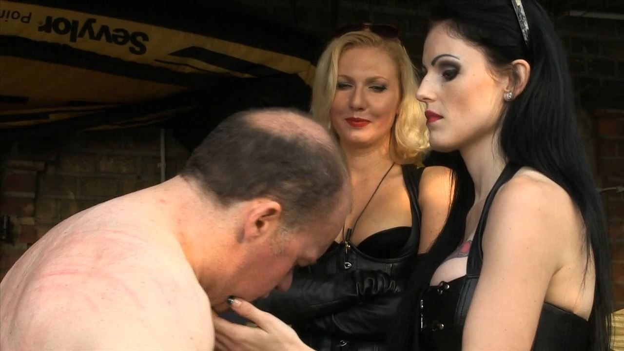Blackdiamoond, Mistress Akella In Scene: Slapped For Lousy Working - SADO-LADIES - HD/720p/MP4