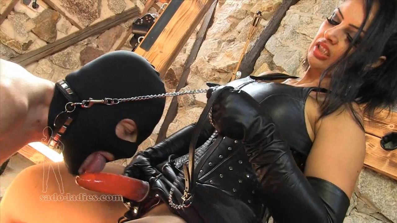 Mistress Ezada In Scene: A Hard Mouthfuck - SADO-LADIES - HD/720p/MP4