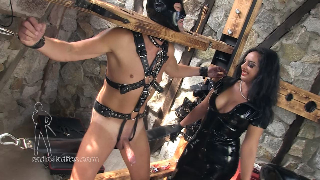 Mistress Ezada In Scene: Training The Sexslave - SADO-LADIES - HD/720p/MP4