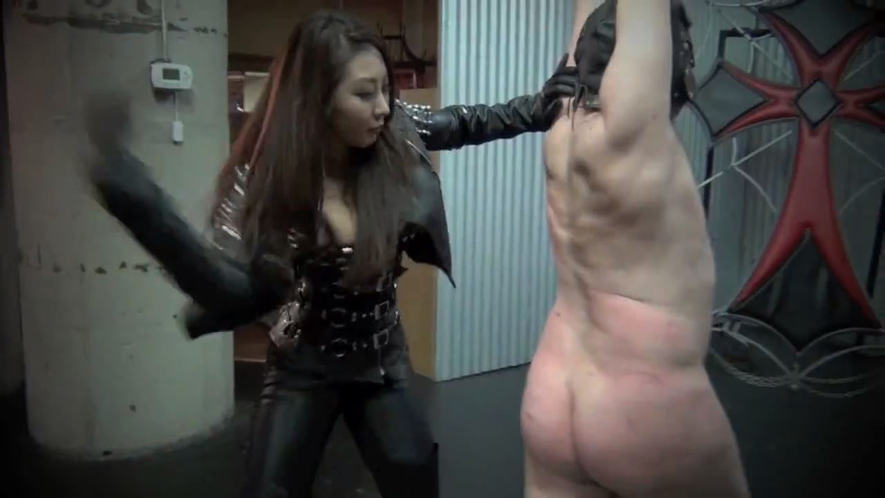 Queen Darla In Scene: LEATHER CLAD SADIST PART 2 - ASIAN CRUELTY - HD/720p/MP4