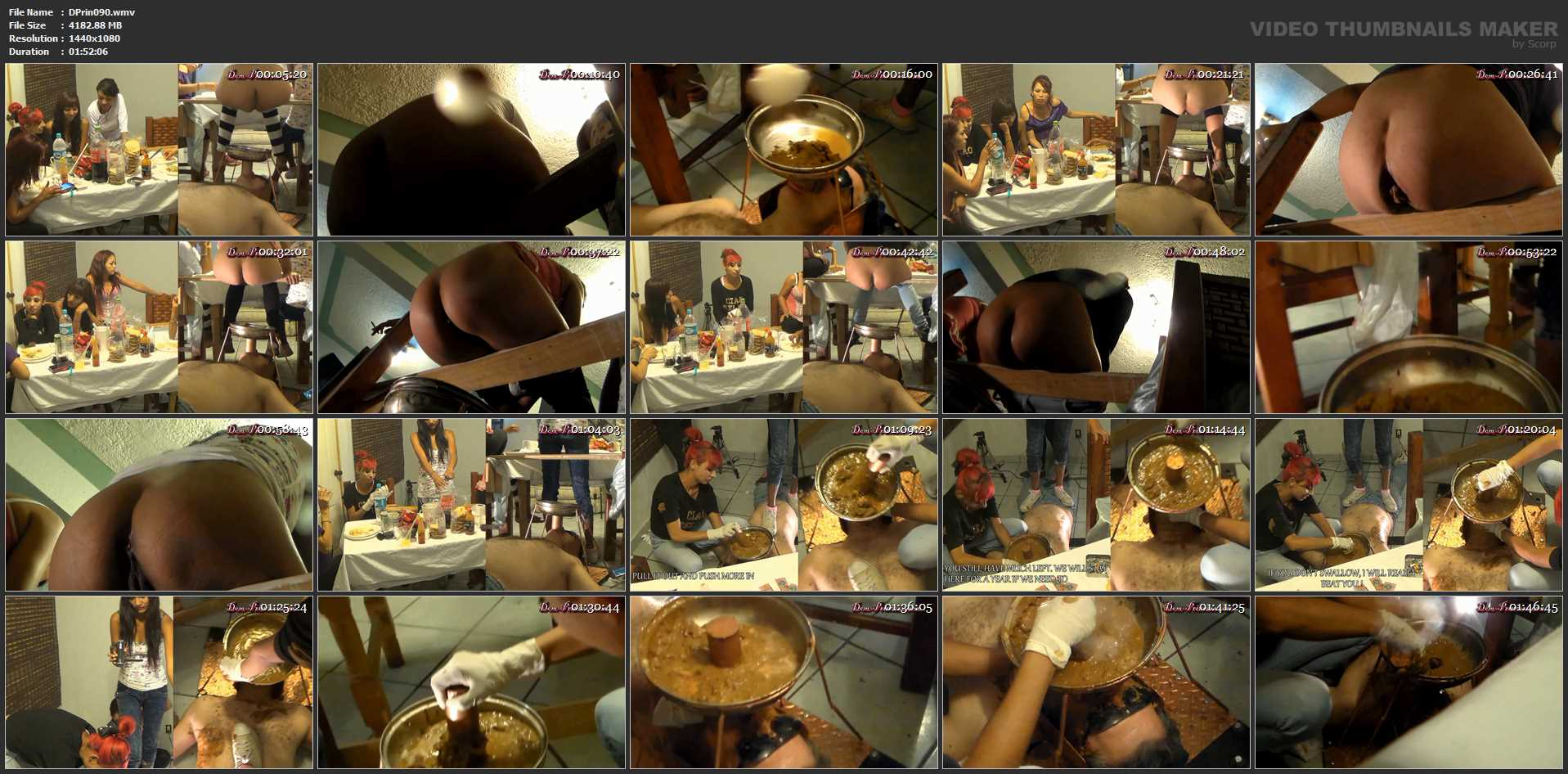 Toilet Mouth High Pressure System II - DOM-PRINCESS - FULL HD/1080p/WMV