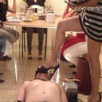 Toilet Slave rolling under the Table Part 2 Diana – DOM-PRINCESS – SD/432p/WMV