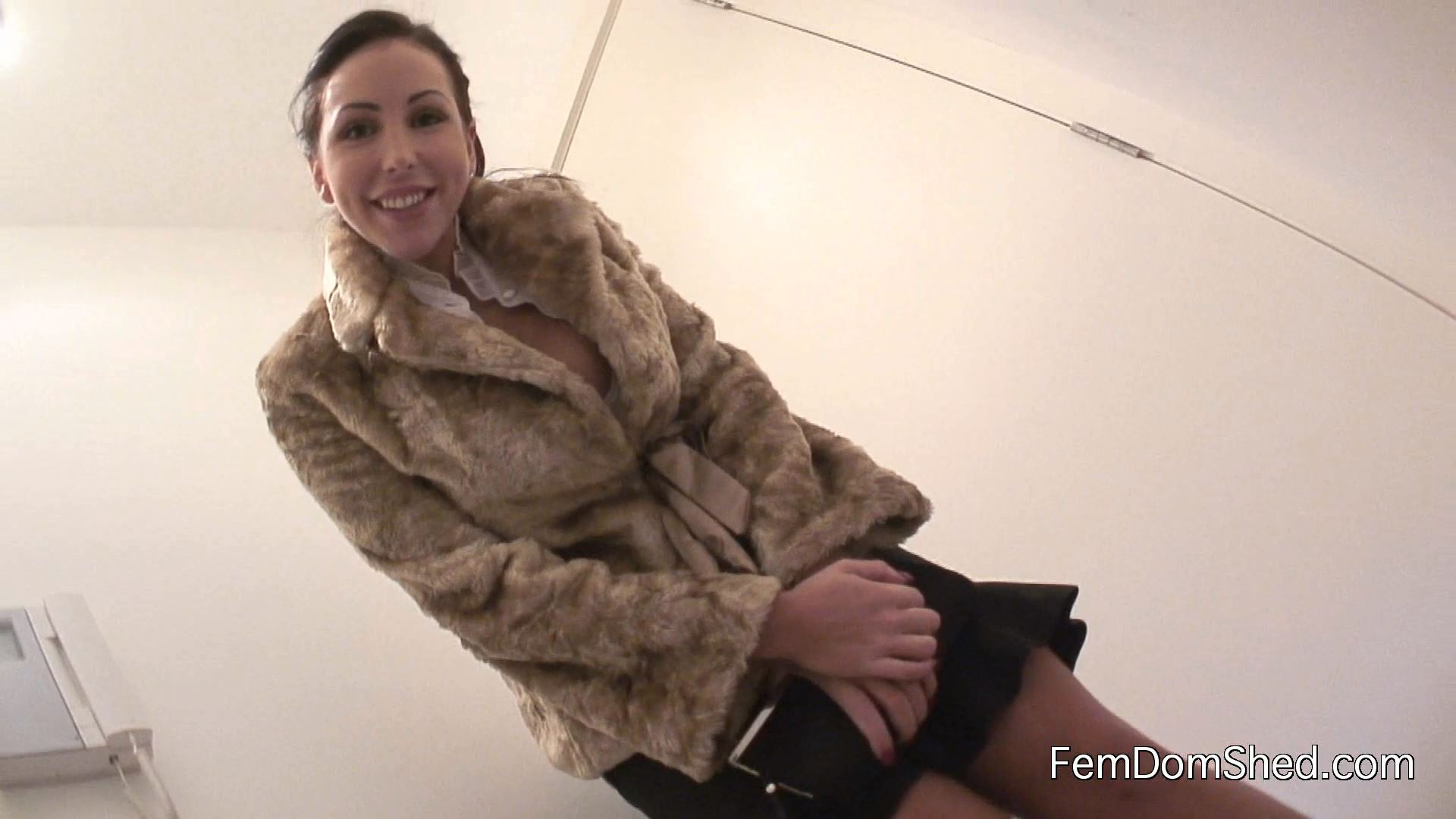 Lady Nina Leigh - Cash Drained And Homeless - FEMDOMSHED - FULL HD/1080p/MP4