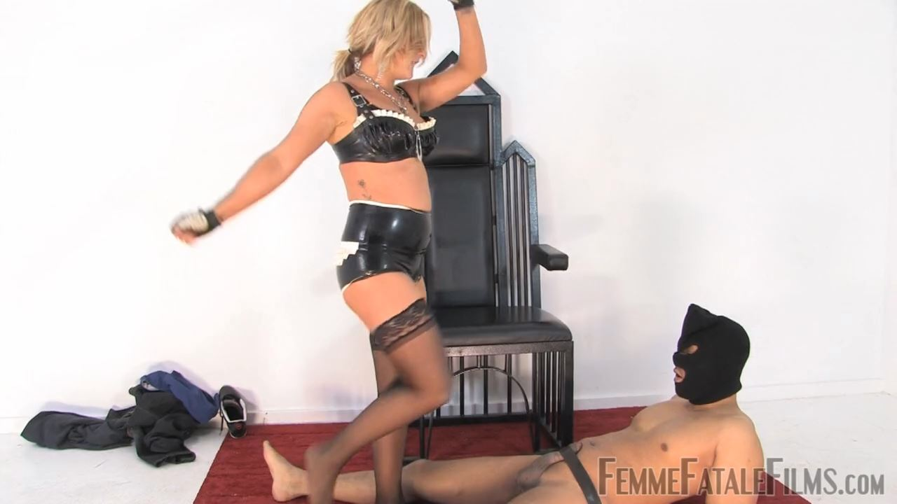 Featuring Mistress Athena In Scene: Busted Burglar - FEMME FATALE FILMS - HD/720p/MP4