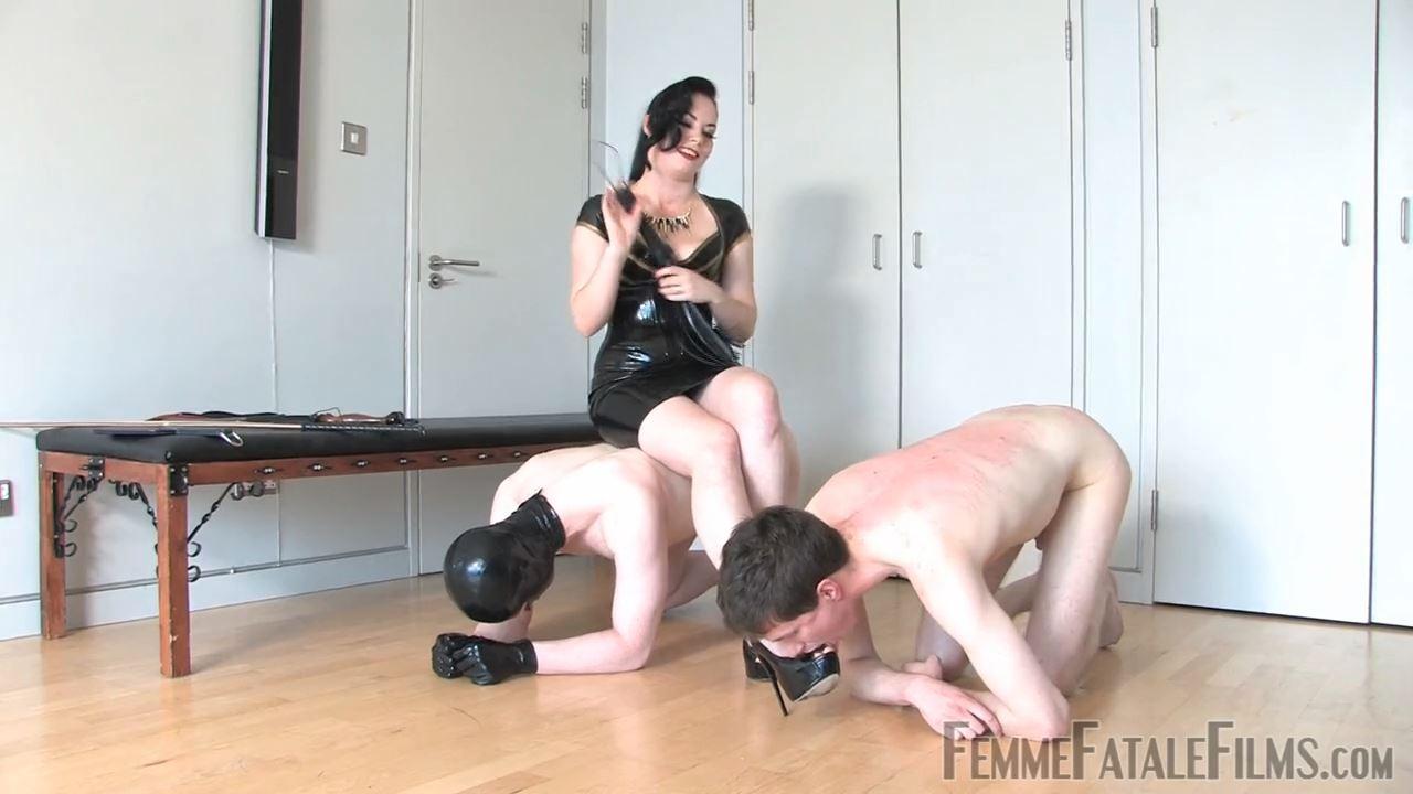 Featuring Lady Sophia Black In Scene: Team Slave - FEMME FATALE FILMS - HD/720p/MP4