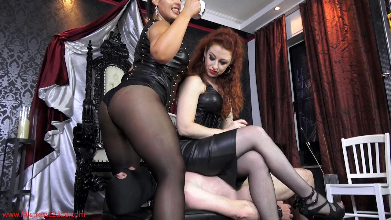 Ezada Sinn, Lady Renee In Scene: Crushed and smothered under two big asses - MISTRESS EZADA SINN - HD/720p/MP4
