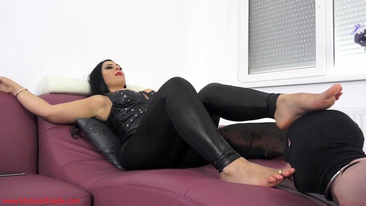 Mistress Ezada In Scene: Foot Worship Punishment - MISTRESS EZADA SINN - HD/720p/MP4
