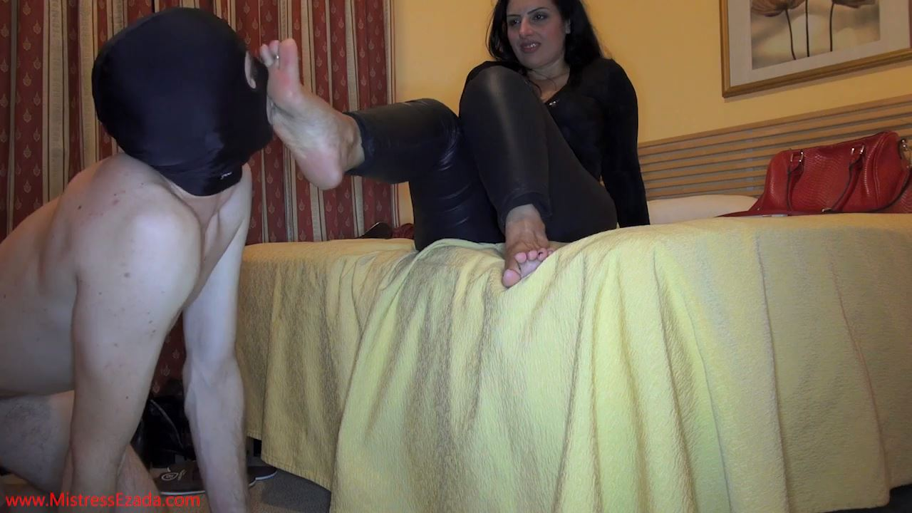 Mistress Ezada In Scene: On his knees, at My feet - MISTRESS EZADA SINN - HD/720p/MP4