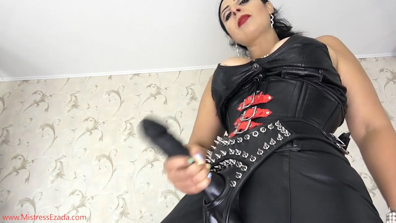 Mistress Ezada In Scene: Suck My cock, leather boy - MISTRESS EZADA SINN - HD/720p/MP4