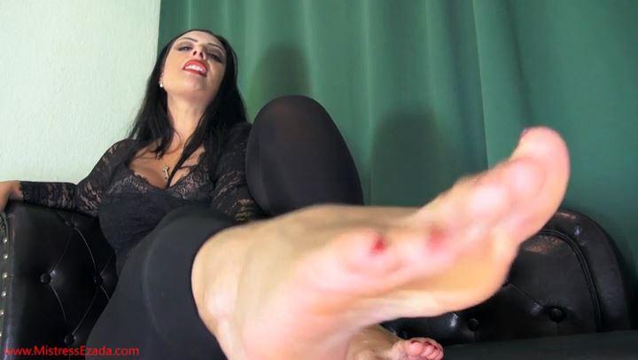 It all starts with My feet - MISTRESS EZADA SINN - SD/406p/MP4