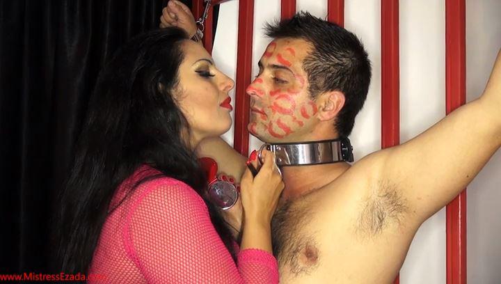 Covered in red lipstick kisses - MISTRESS EZADA SINN - SD/408p/MP4