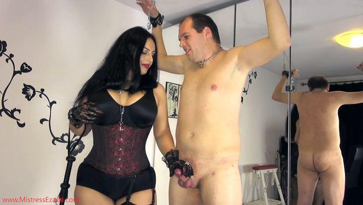Lace gloves teasing - MISTRESS EZADA SINN - SD/406p/MP4